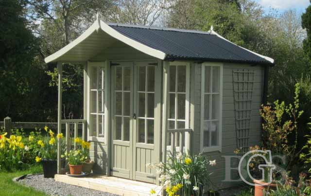 Mews Style Summerhouse