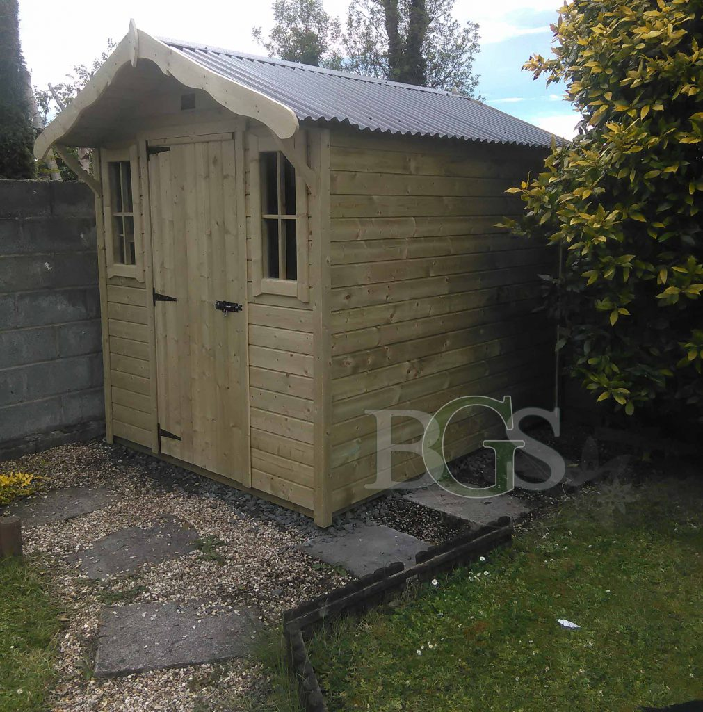 Cabin - Pressure Treated