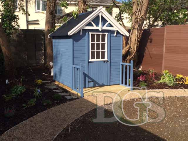 Lodge Garden Shed