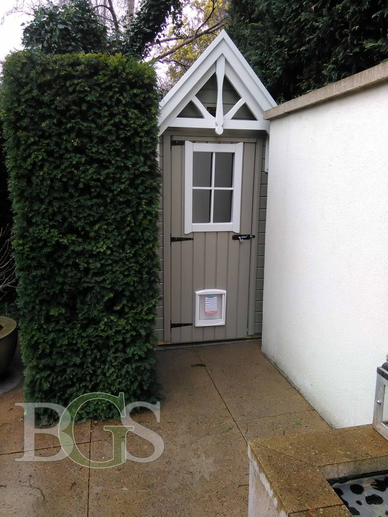 New Sentry Style Storage Shed - Painted