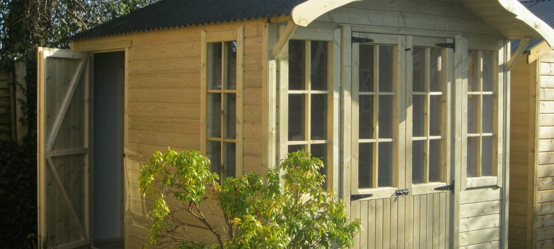 Combi Pavilion garden shed